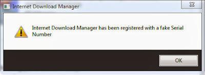 Cara Menghilangkan Notifikasi Fake Serial Number IDM