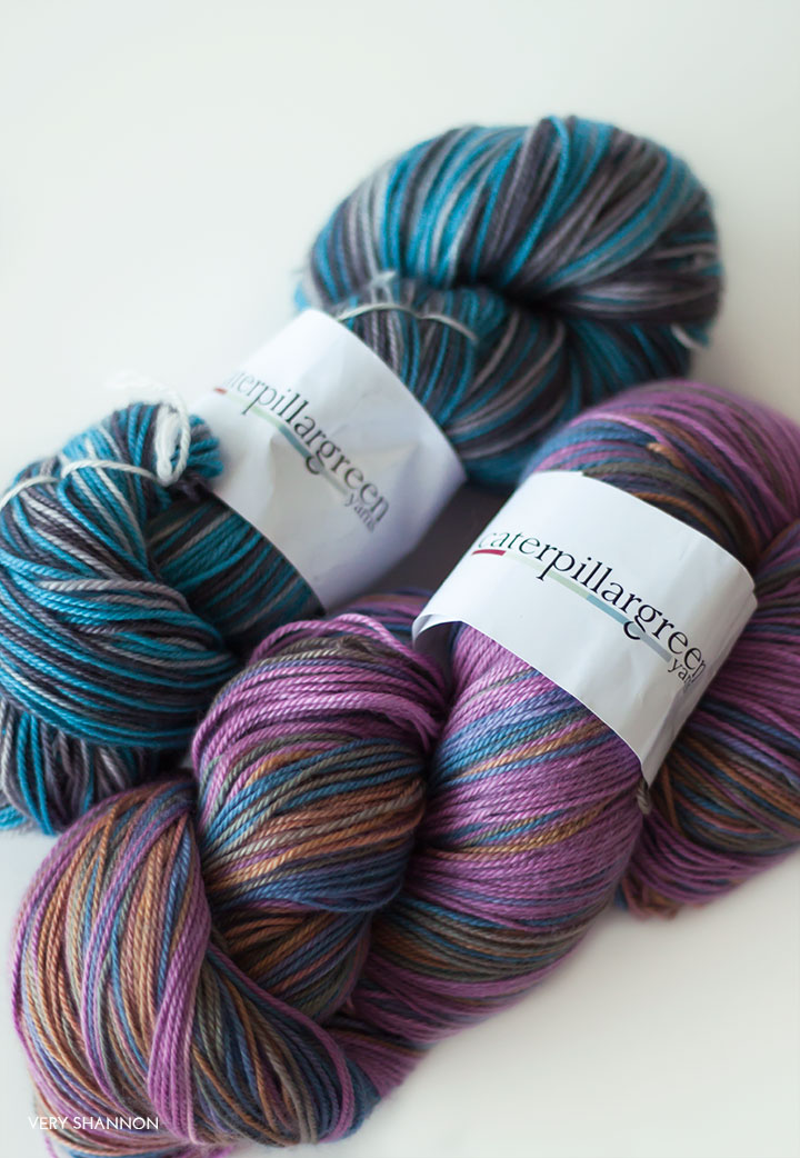 Caterpillar Green Yarns Giveaway // VeryShannon.com