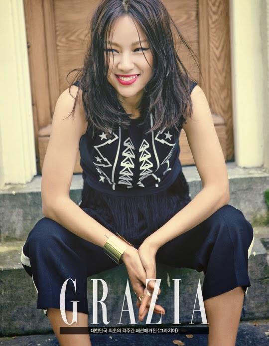 Hyori - Grazia June 2014