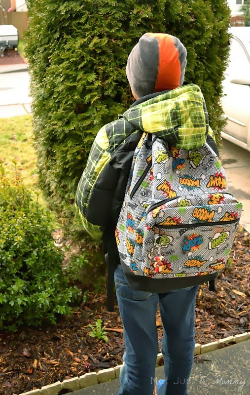 Yak Pak Retro Comics backpack