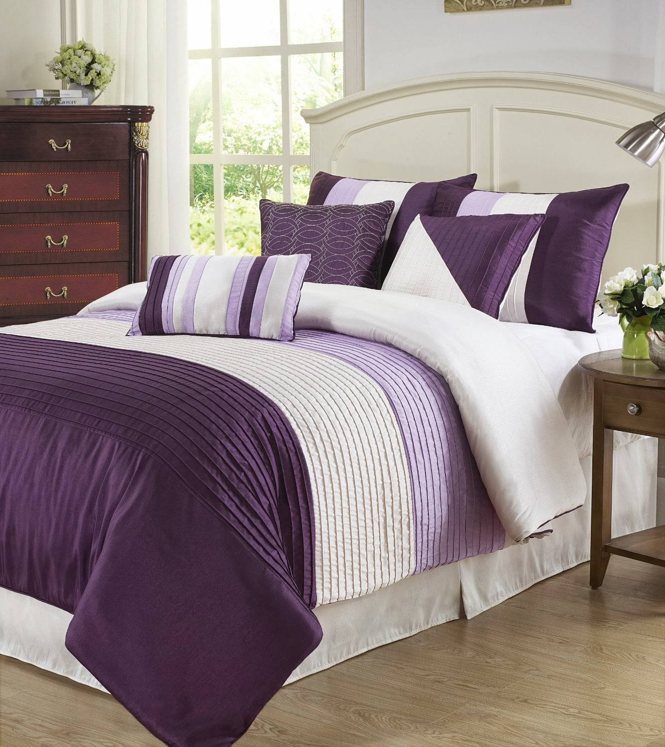 Purple bed sets queen - I Love Purple Color But Still If You Have Any Other Choice Then You Can Choose From Light Green Navy Light Blue And Purple Lilac Which Is Listed In The