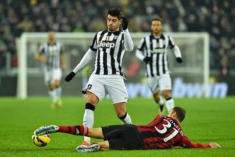 Liga Italia : Juventus 3 -1 AC Milan