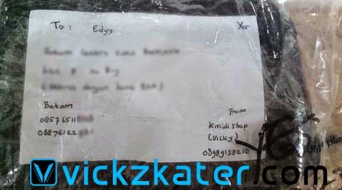 Paket Kiriman JNE - Vickzkater.com