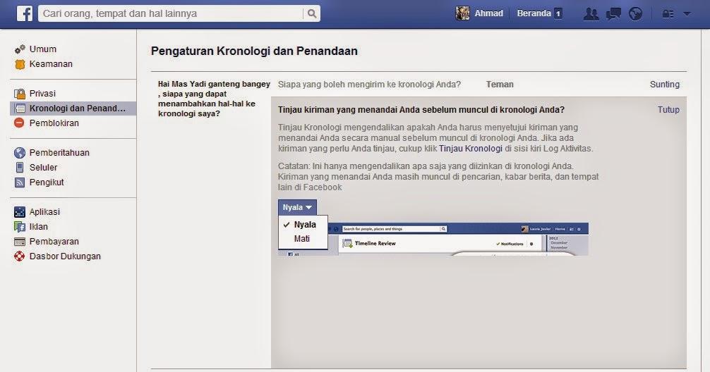 Cara Mudah Agar Kita Tidak Bisa Ditandai Teman Facebook