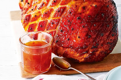 Easy glazed tasty ham Recipe