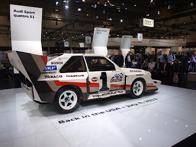 Audi Sport quattro at Techno Classica Essen 2012