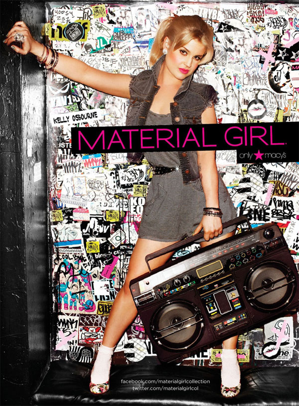 Larissa Kelly: KELLY OSBOURNE EM EDITORIAL DE MODA PARA A MATERIAL GIRLS