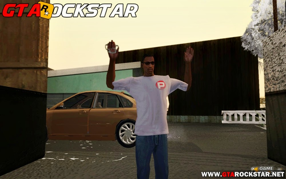 GTA SA - Novo Pack de Animações Realistas para CJ