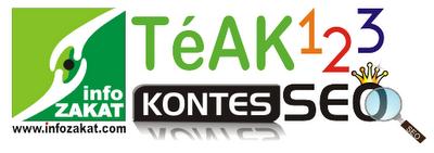 Logo SEO Kontes InfoZakat & Teak123