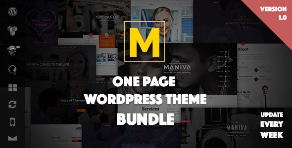 Maniva – One Page WordPress Theme