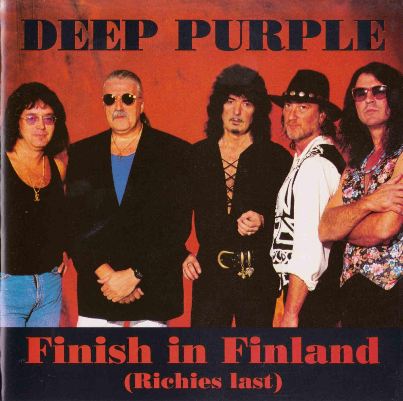 Deep purple finish in finland richies last jäähalli helsinki
