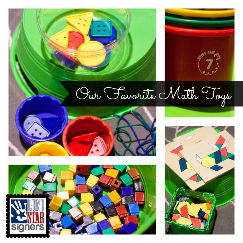 Homeschooling: Our Favorite Math Toys