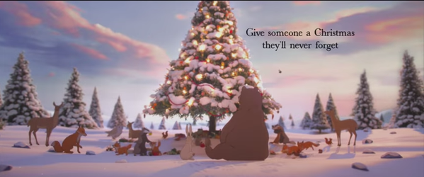give someone a christmas they'll never forget