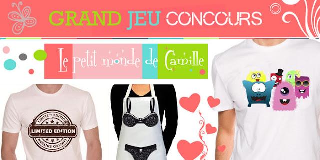 Jeu Le Petit Monde de Camille et Mademoiselle Bons Plans