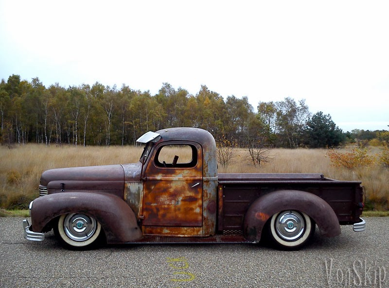 Rodcitygarage 1941 quot rat rod quot pick up truck