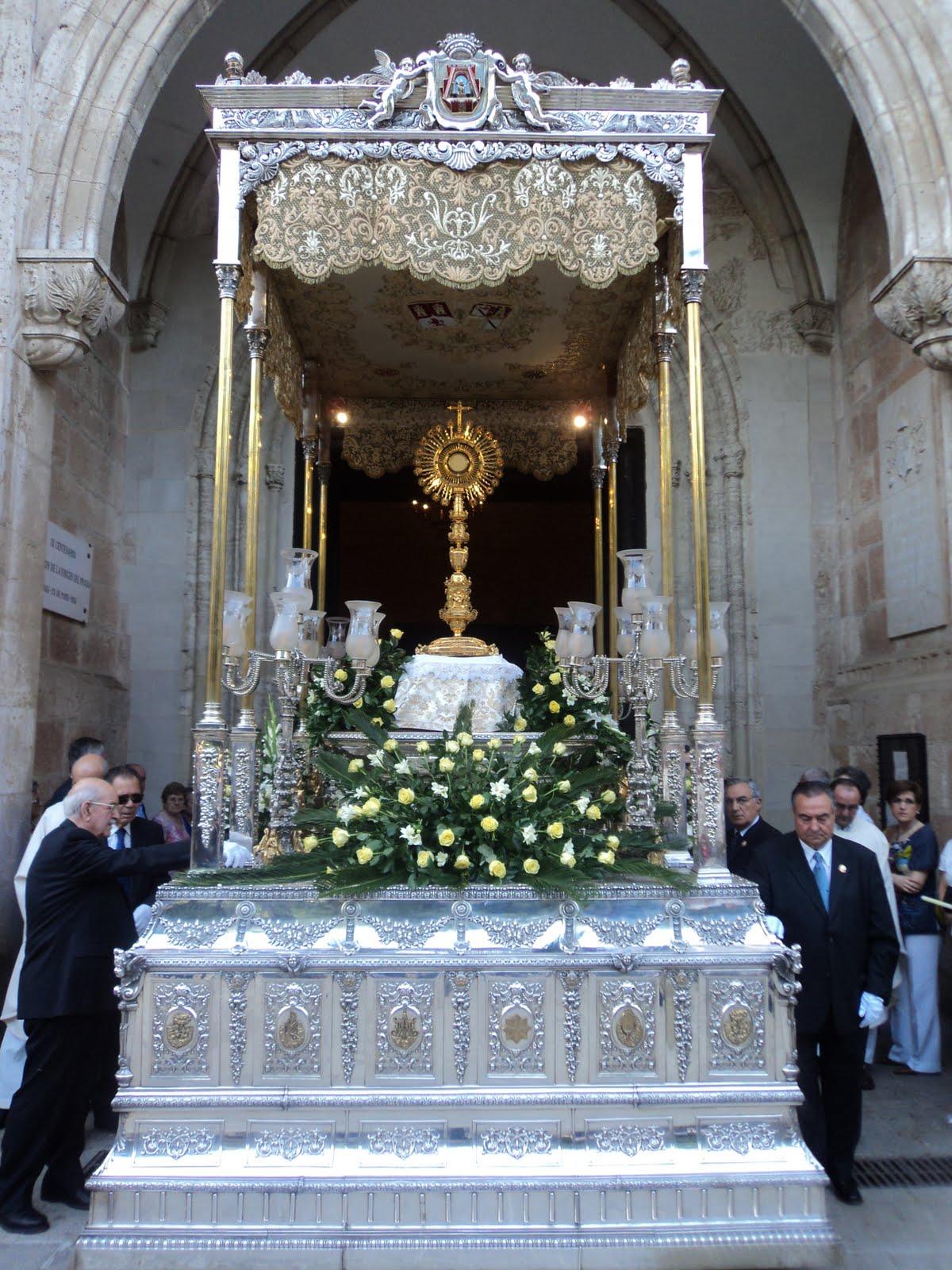 Resultado de imagen de procesión corpus christi