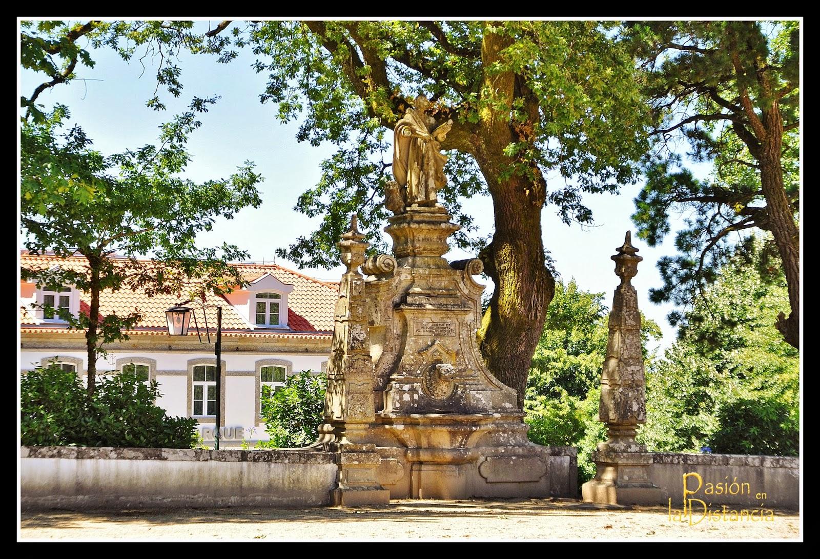 Fuentes de los Evangelistas - Santuario Bom Jesú do Monte - Braga