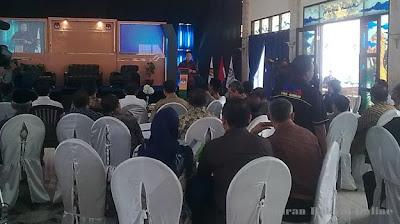 Seminar Sosialisasi UU Pemilu 2014 KPU Kab Kuningan, Cecep Husni Mubarok