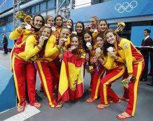 Waterpolo femenino medalla de plata España Juegos Olimpicos Londres 2012