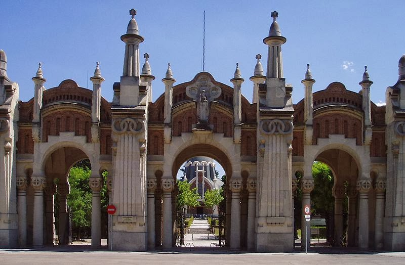Our Lady of Almudena Cemetery (Madrid, Spain)