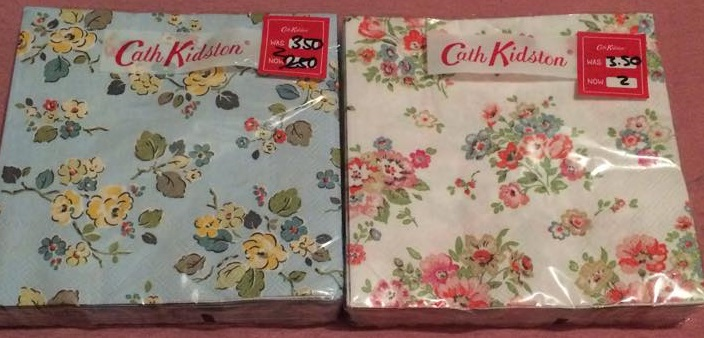 Starting off with the most boring bits first I bought two packs of paper napkins for decoupage. One is in the Woodland Rose pattern and the other is in the ... & Abbi Scarlet: Cath Kidston January 2016 Sale Haul