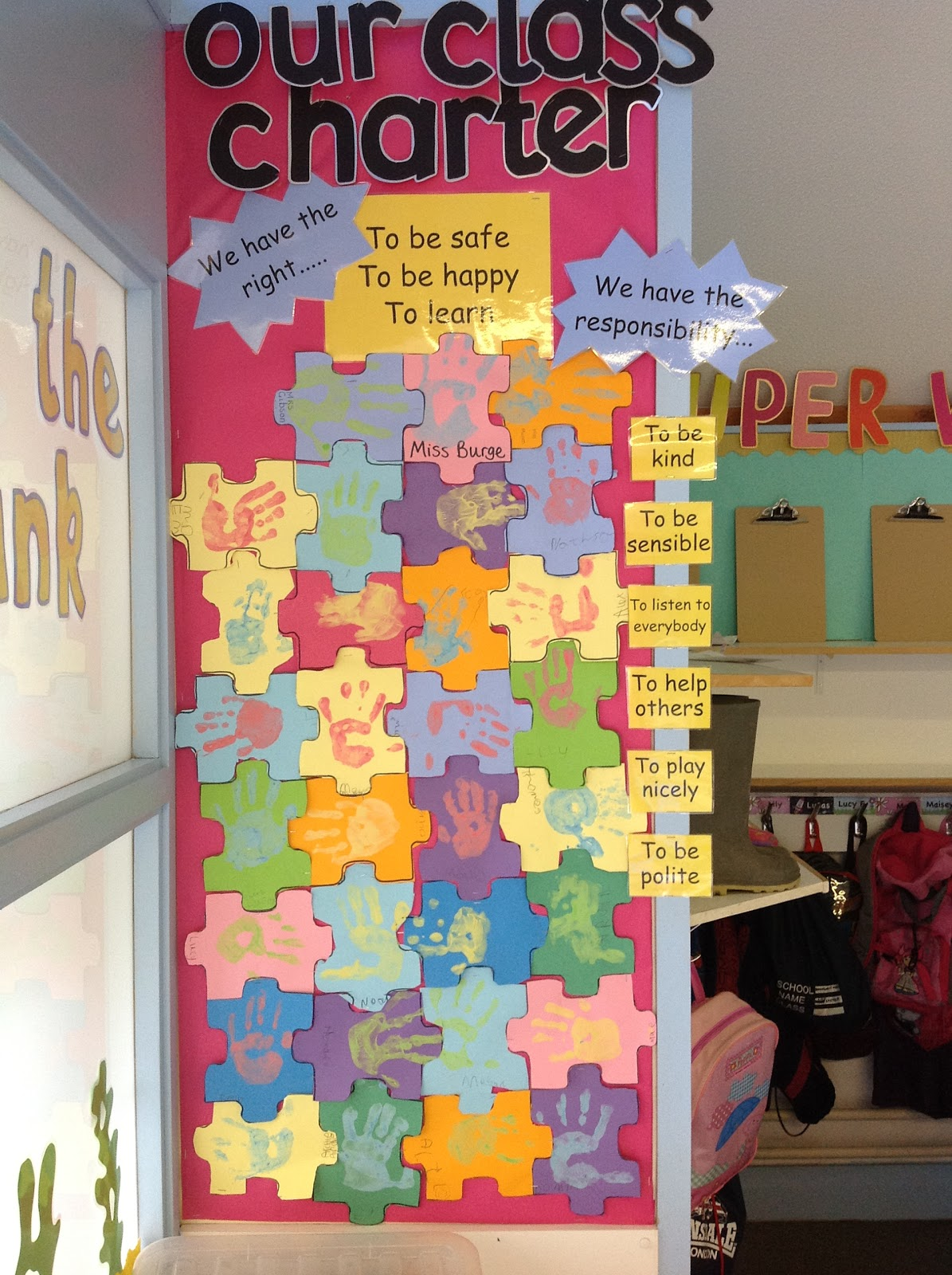 Classroom Ideas For Primary School : Year goldilocks base our class charter