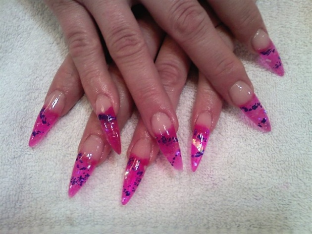 Tattoink Cool And New Acrylic Nails Designs 2013