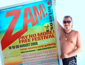 ZAM free festival 2008