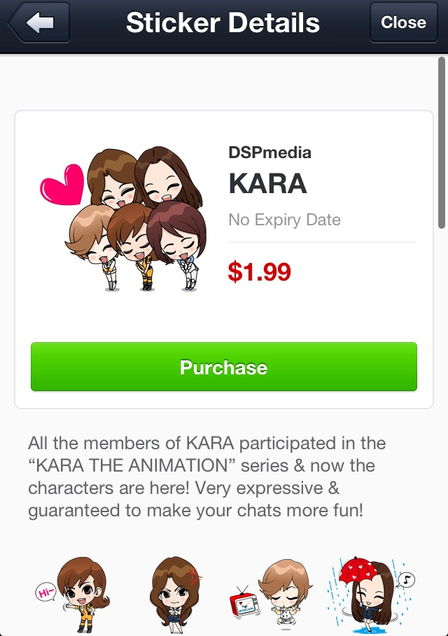 kara stickers