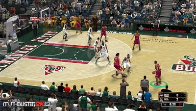 NBA 2K13 Milwaukee Bucks Court Patch Update