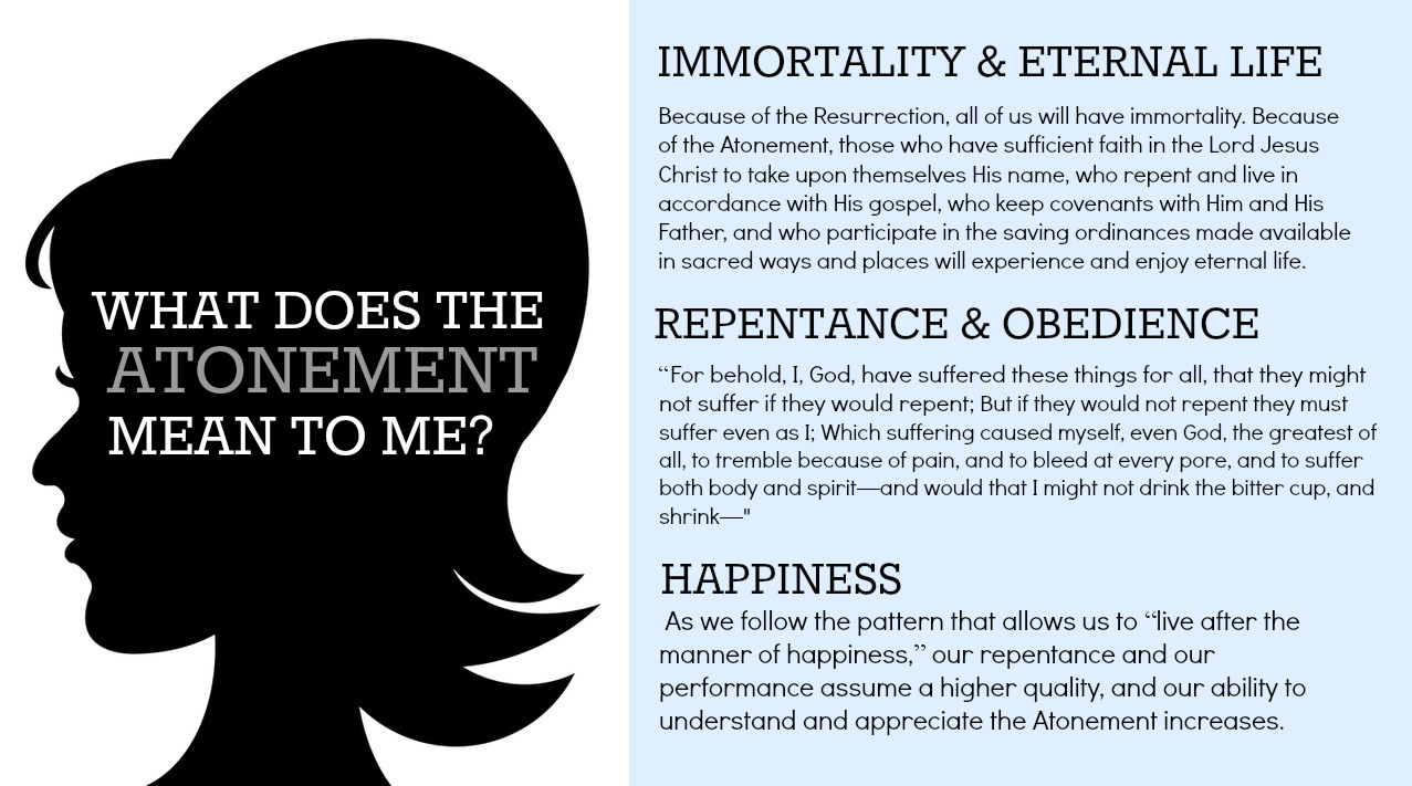 Come Follow Me What Is The Atonement Of Jesus Christ