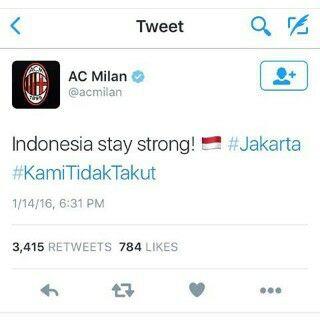 AC Milan: Tetap Kuat, Indonesia!
