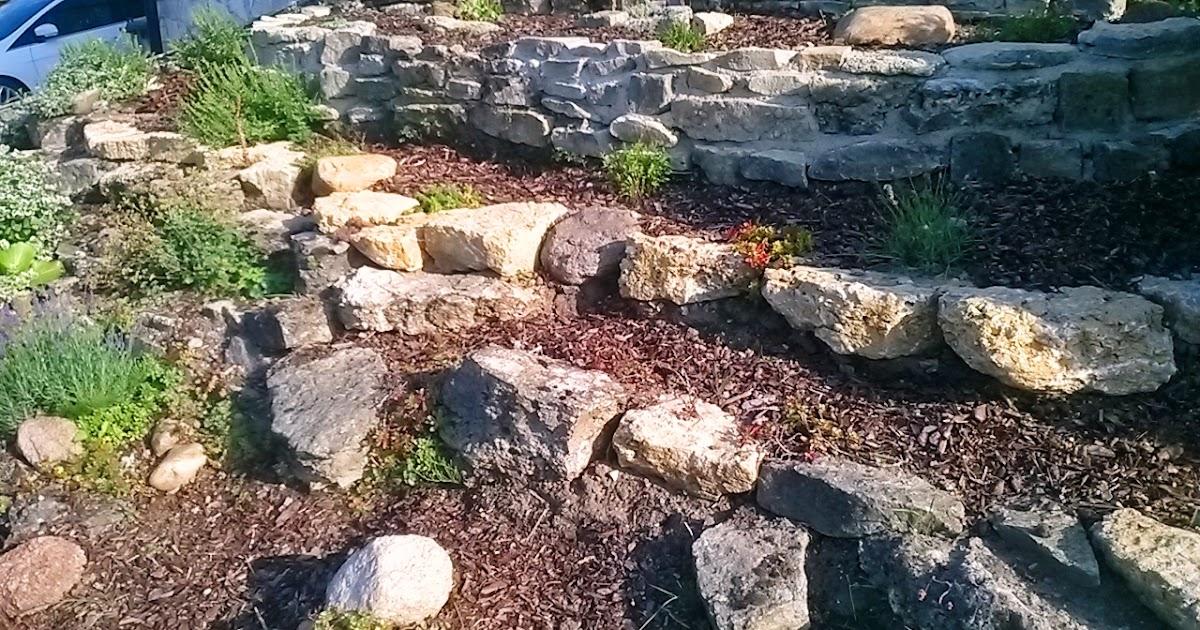 Garten-anders: Steingarten Design