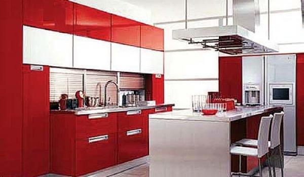 Decoracion Actual de moda Casas pintadas de rojo