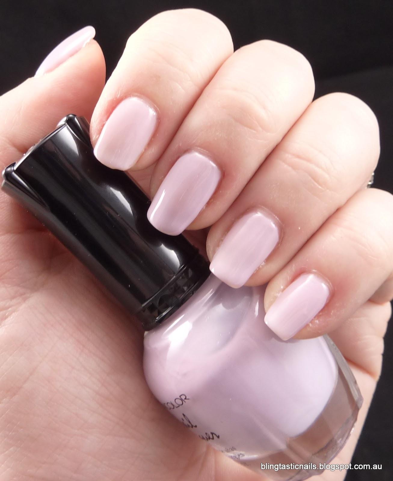 Jas\'s Blingtastic Nails: Kleancolor Sheer Pastel Grey
