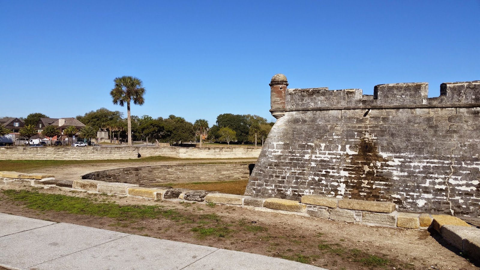 Castillo de San Marcos in St. Ausgustine FL