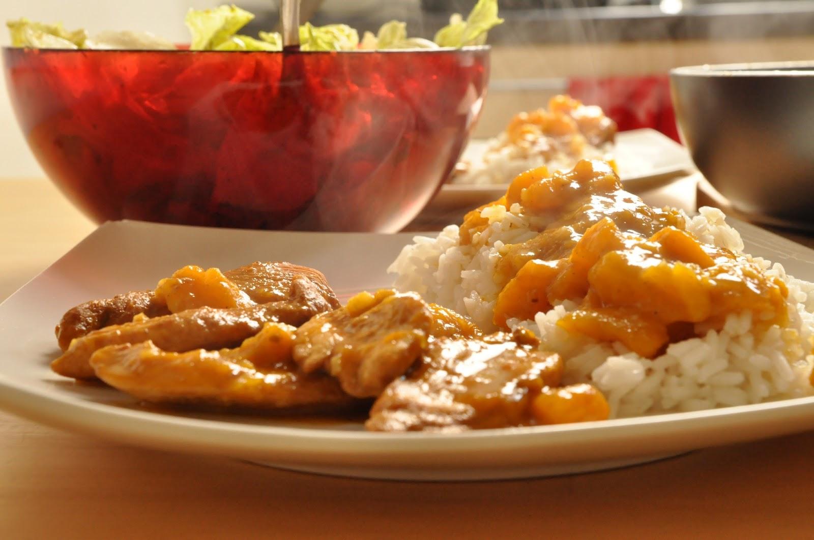 Kurczak Z Mango I Pomaranczami Baby W Kuchni