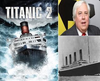Bilionário australiano irá construir a versão moderna do transatlântico de luxo Titanic.