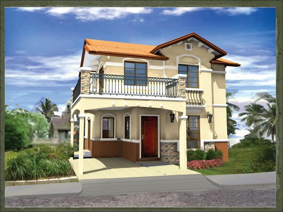 Sapphire dream home designs of lb lapuz architects for Budget home designs philippines
