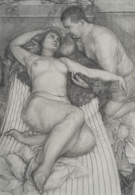 Daria Souvorova Bacchus Comforting Ariadne
