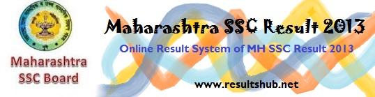 maharashtra Board ssc result 2013