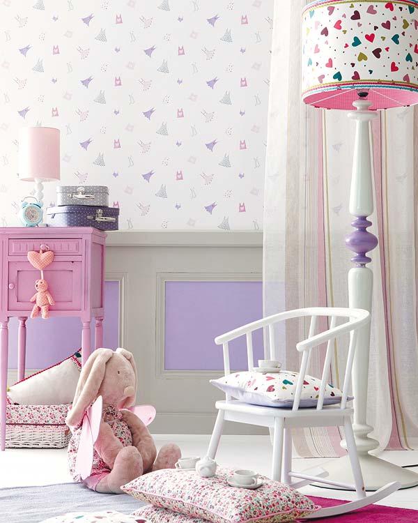 Telas Y Revestimientos Para Dormitorios Infantiles