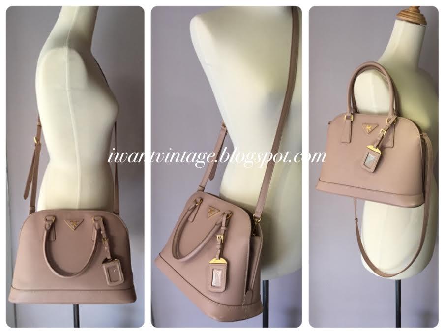 I Want Vintage | Vintage Designer Handbags: Prada BN2567 Saffiano ...