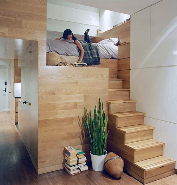 Creative Storage Solutions for Small Apartment - AyanaHouse