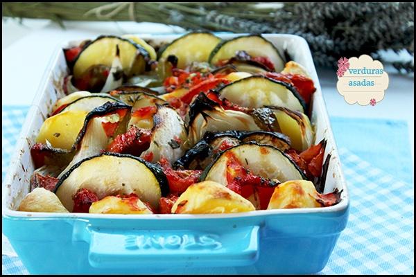 Verduras al horno el jard n de mis recetas - Verduras rellenas al horno ...