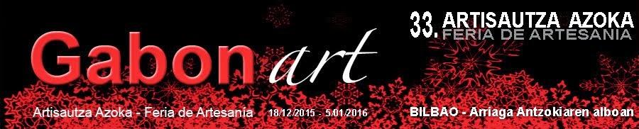 Gabonart-2015 - Feria de artesanía de Navidad de Bilbao