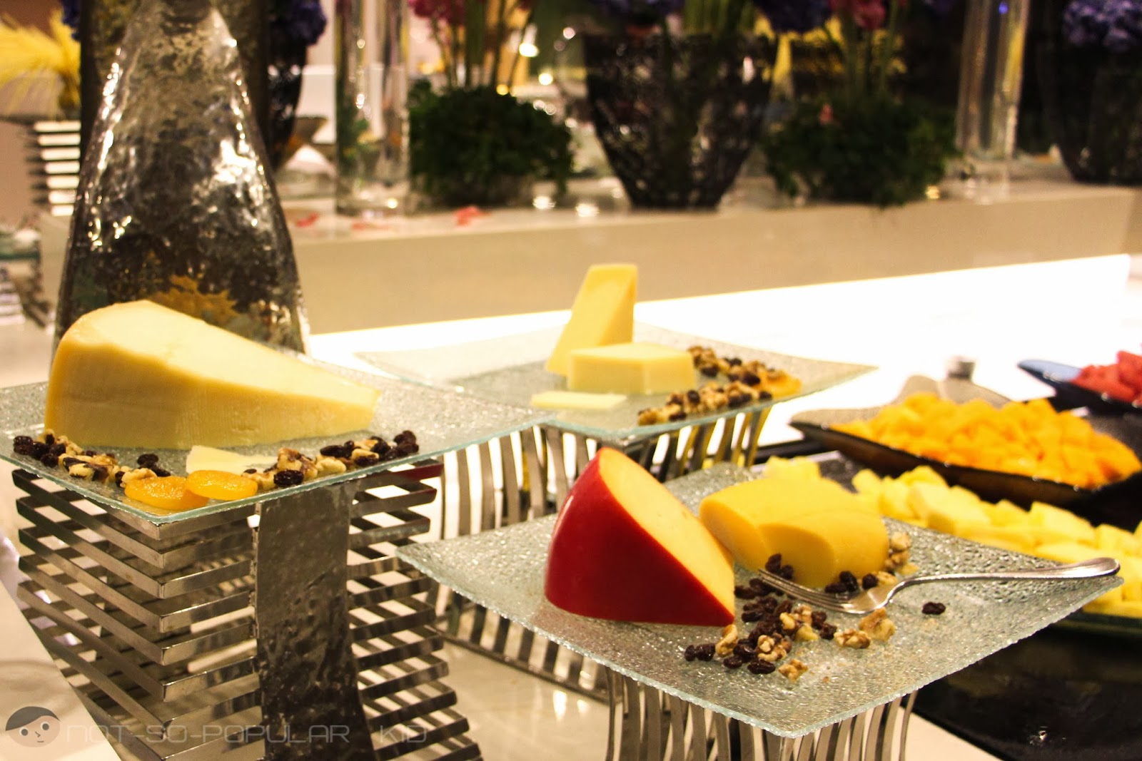 Midas Cafe Cheese Station