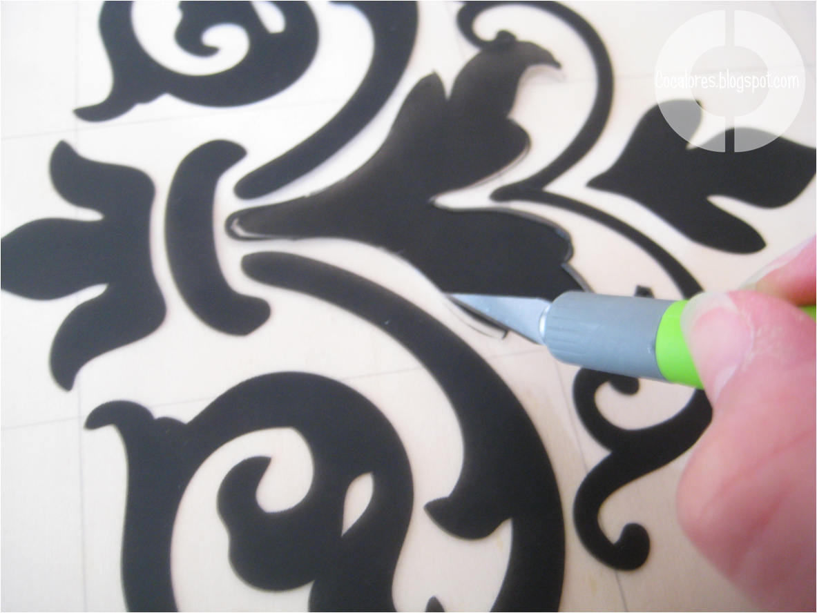 Diy Wall Stencil Template : Simple damask pattern stencil imgkid the image