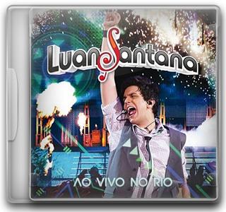 Capa CD Luan Santana   Ao Vivo no Rio (2011)