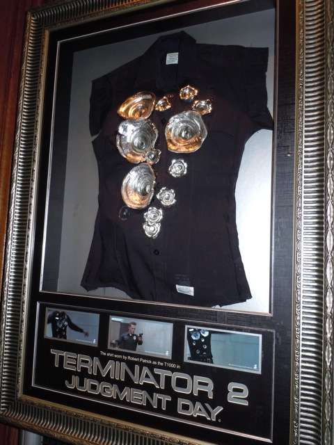Terminator 2 T1000 bullet costume
